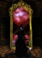 Tom and Mirror of Erised by Dhesia