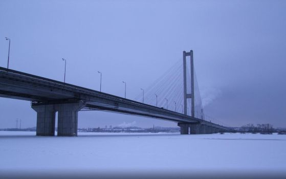 Winter and the South Bridge by wizzard0