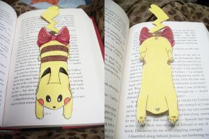 Pikachu Bookmark by Jacqueline-Victoria