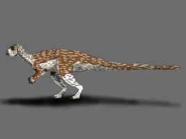 Qantassaurus intrepidus by TrefRex