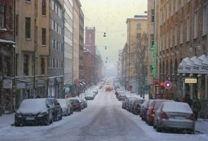 January day in Helsinki by Pajunen