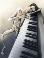 Piano Man by ThePea