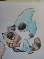 chibi mordecai and rigby by alexdream12