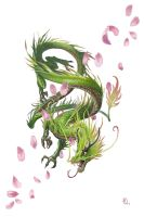 Very Young Forest Dragon by BenWootten