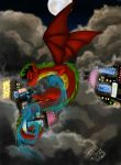 Dragon Up by Praquina