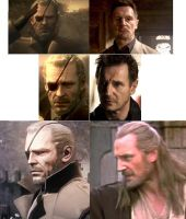 Big Boss:Liam Neeson by womack90