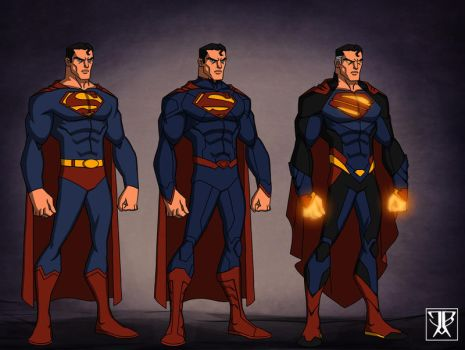Superman evolution by DivineComics