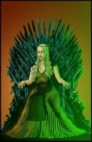 Mother Of Dragons Iron Throne By Gothpunkdaddy-d77 by KYLE-CHANEY
