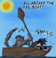 All Aboard the Fail Boat by Simulizi