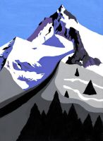 Magnificent Mountain by Fenfolio