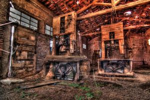 Sawmill HDR I by xaferna