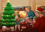 ZoSan Family prepare for Christmas by Yuushishio