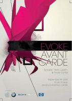 avant garde flyer by tienTOON