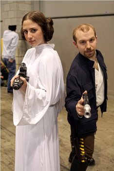 Leia and Han by Elegance-Defined