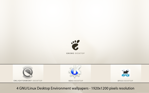 GNU-Linux DE Wallpapers by deviantdark