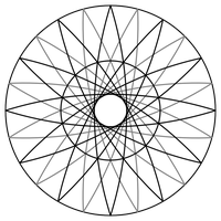 Dimensional Diamond diagram with 12 sides by hawstan