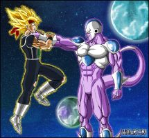 -DBM- Baddack VS King Cold V2 by DBZwarrior