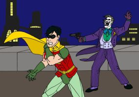Dick and the Joker by VoteDave