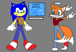 Sonic and Tai by Sonic-Lover9