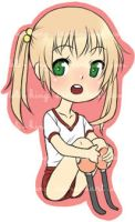 Katawa Shoujo - Emi Sticker by Loli-King