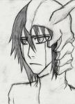 Ulquiorra  Face Sketch by KenSayia