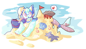 and all the seas with oysters by PillowRabbit