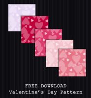 FREE DOWNLOAD - Valentines Patterns by PointyHat