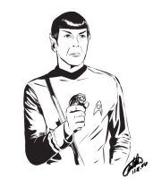 The Glory That Is Mr. Spock by Marker-Mistress