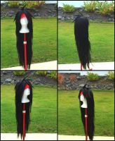 Vincent Valentine Wig Commission by RHatake