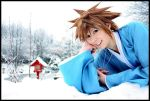 Sora - Winter Wonderland by Evil-Uke-Sora