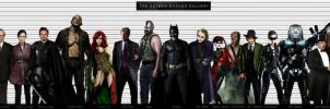 BATMAN ROGUES GALLERY by vicariou5