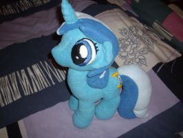 Colgate / Minuette Plushie by Celestia-In-Love