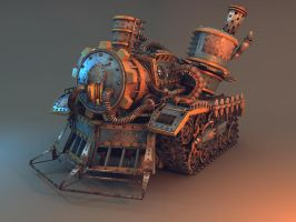 Steampunk Tank by Oxeren