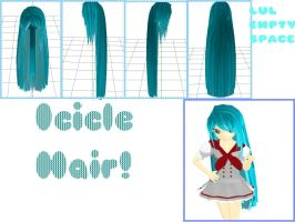 MMD: Icicle Hair + DL by MikuMikuLiv