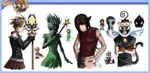 Gaian Avatar Collection I by Blindice