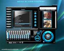 Media Player Concept v1 by stablizershock