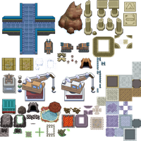 Pokemon Gaia Project Tileset11 by zetavares852