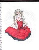 Red Dress by Lovely-Livi