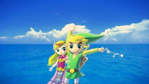 Wind Waker HD Link and Zelda Wallpaper by Nolan989890