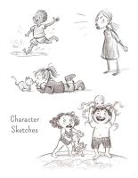 Children Sketches by aberry89