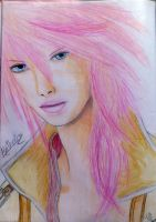 Lightning Final Fantasy XIII by FinalMayFateAngel
