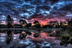 HDR Sunrise by chalutplease
