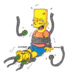 Classic Character Tickle Torture: Bart Simpson by KnightRayjack