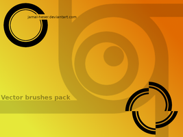 Simple vector Gimp brushes by Jamal-Heser