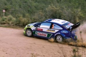 2007, Marcus Gronholm, Ford, Ourique, Portugal by F1PAM