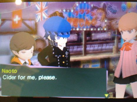Naoto Likes Alcoholic Beverages by Harbluia
