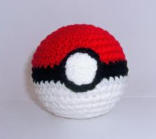 Pokeball Plushie by W0IfDreamer