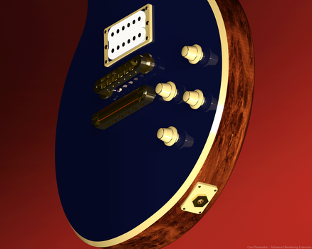 3D Guitar Lower Body by BKrootz
