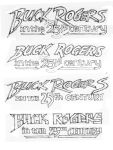 Buck Rogers logo concepts by Neumatic