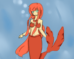Red pearl ~ friend's mermaid melody oc by Gu-chan101